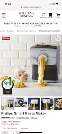Philips Smart Pasta Maker  Maple Grove, 55311