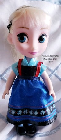 Disney Animator Mini Elsa Doll - $10 Toronto, M9B 6C4