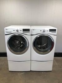 Amazing Steam Whirlpool Front Load Washer And Dryer (Same Day Delivery) Norfolk, 23502