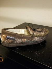 brown and green camouflage Magellan loafer New Caney, 77357