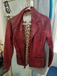 Red leather jacket Davenport, 33896