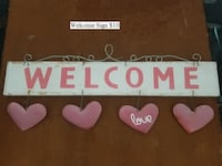 Welcome Sign $10 252 mi
