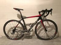 black and red road bike Gainesville, 32607