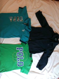 4T Polo Jacket and T shirts