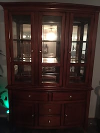 Real wood 3dr China cabinet With lights Port Charlotte, 33952