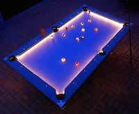 lighted pool table 1189 mi