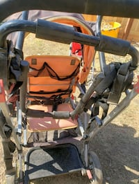 Double SEATED stroller
