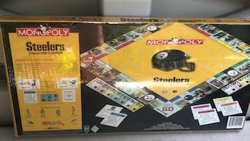Collectors Steelers Monopoly Game! OBO