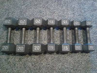 Dumbell set Kitchener, N2A 2M7