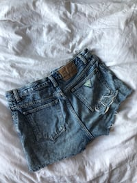Guess Ripped Cutoff Jean Shorts Size 30 Toronto, M6H 3W3