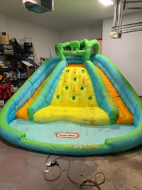 Kids BounceHouse and Water Play Set