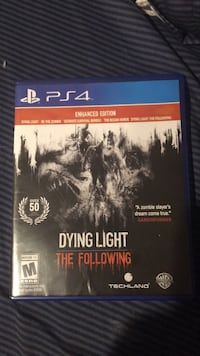 DYING LIGHT THE FOLLOWING PS4 Whitehall, 49461