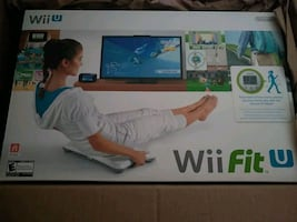 wii u fit board with fit meter