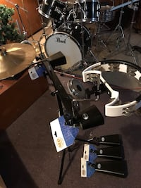 Mano percussion stand kit, with cowbells and all arms and extensions