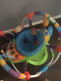 baby's multicolored jumperoo Edmonton, T5T 6S6