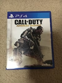 Call of duty Advanced Warfare PS4 game for sale Winnipeg, R3T 3H2