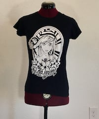if I die young pirate girl tee