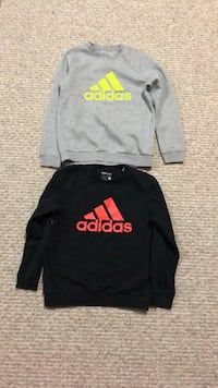 New condition adidas boys 11-12 yrs old sweatshirts