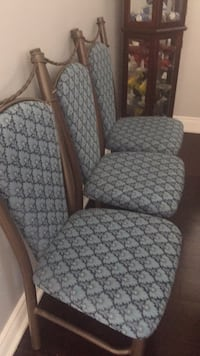 gray and white fabric sofa chair Pickering, L1V 7B3