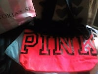 red and black pink tote 376 mi