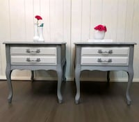 French provincial end/night tables Lincoln, L0R