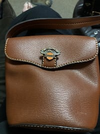 Cute lil brown leather with vintage pin n patch harley  Elkton, 21921