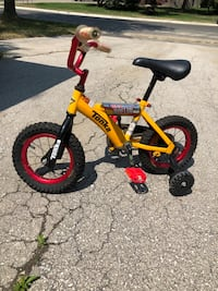 "Tonka Toddler's bike 12"" with training wheels Brampton, L6S 2X6"