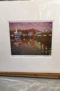 14 by 16 giclee by Gordon Haas New Hope, 18938