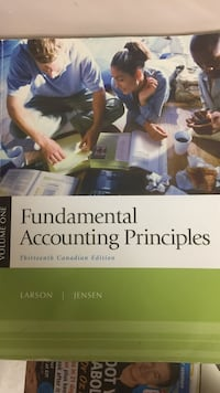 Fundamental Accounting Principals 13th Ed. Vaughan, L4J 6S8