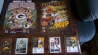 NEW LARGE Aaron Rodgers Sports Card Plaque Coopersburg