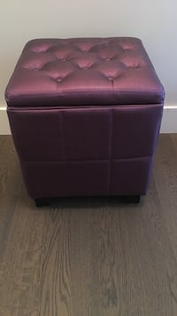 Purple ottoman with storage Surrey, V4P 7H7