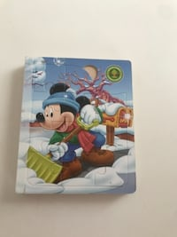 Mickey ve Mini Mouse kitap puzzel 8427 km