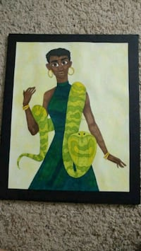 The Lady With the Snake - A Marker Illustration Bossier City, 71111