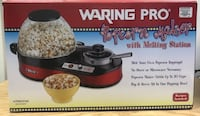 Waring Pro Electric Popcorn Maker with Melting Station Glen Arm