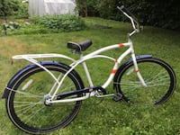 White and Navy Beach Cruiser Coquitlam, V3K 1R5