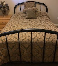 Wrought Bed- Double Oakville
