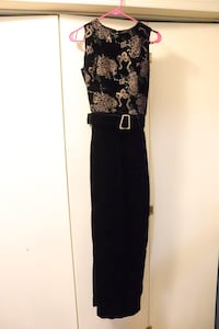 Women's Gown with velvet and special belt and desi Springfield, 22152