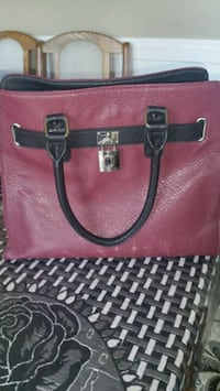 women's pink leather tote bag Calgary, T3J 2T2
