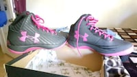 pair of gray-and-pink Nike running shoes Redding, 96001