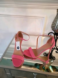 pink leather open toe ankle strap heels Waldorf, 20602