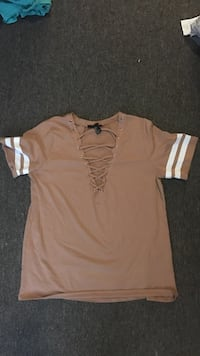 Women's brown and white blouse Carrollton, 30117