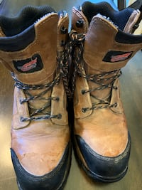 Red Wing 2401 Steel Toe Work Boots men's Size 10.5