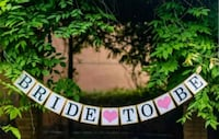 NEW Bride to Be Banner Mississauga, L4W 0E4