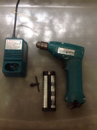 Makita 6010D Cordless Driver Drill 7.2V with DC7100 Fast Charger Bolton, L7E 1X7