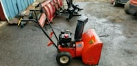 red and black snow blower Ranson, 25438