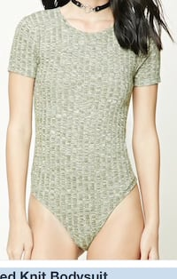 Small ! Forever21 !new ! Ribbed Knit Bodysuit  Toronto, M6M