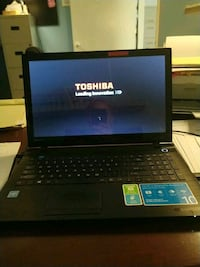 Touch screen Toshiba laptop