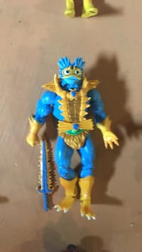 blue and yellow character action figure Sherwood Park, T8A 3M5
