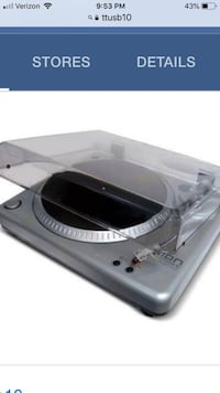 Record Player / Vinyl Recording Turntable with software