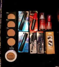 Package deal makeup lot earbuds cremes